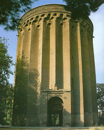 Toghrol Tower, Rey, Iran.